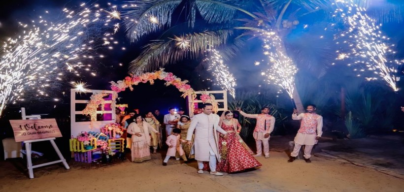 Beach Resort Wedding in Goa
