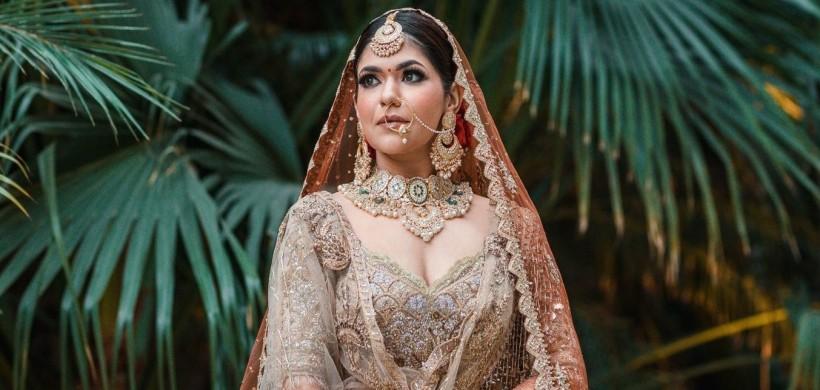 Bride-in-rimple-and-harpreet-lehenga