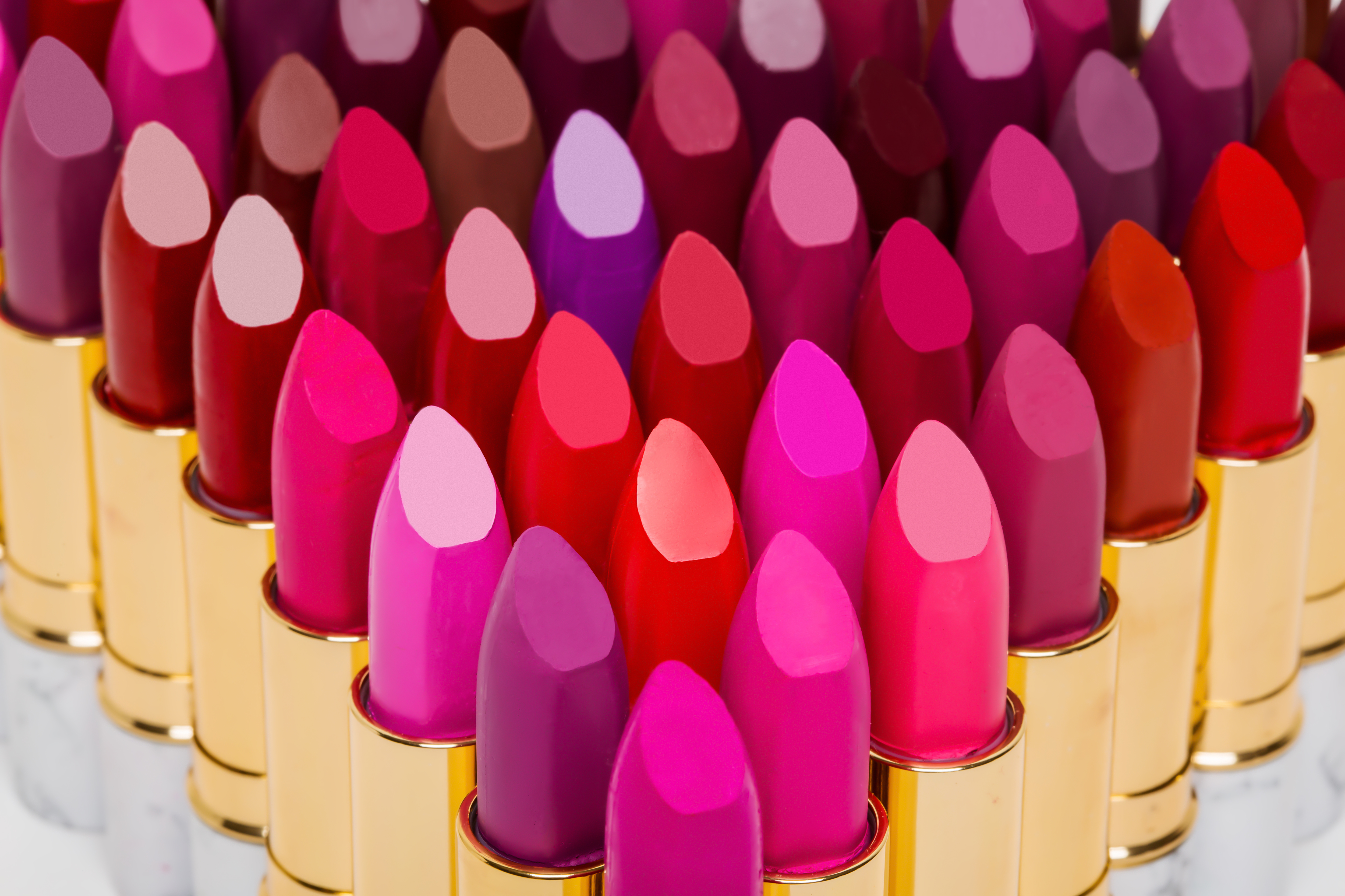 A Range Of Colorful Customized Lipsticks