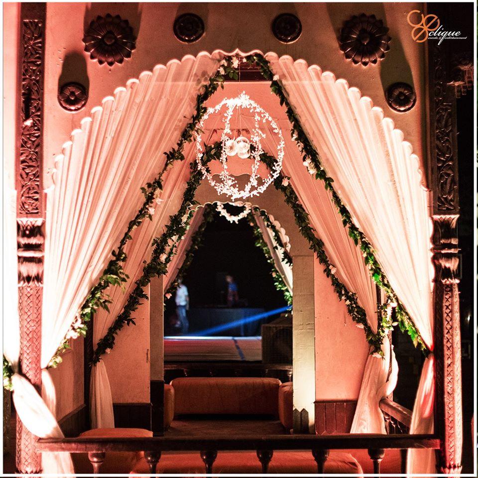 wedding entrance gate decoration idea