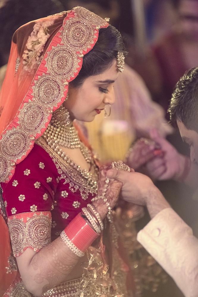 Pink Bridal Chooda