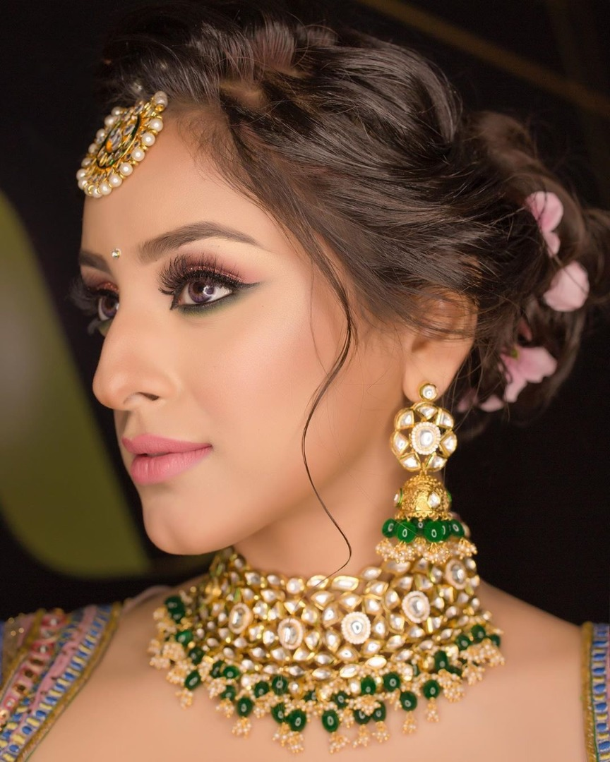 stunning natural bridal makeup