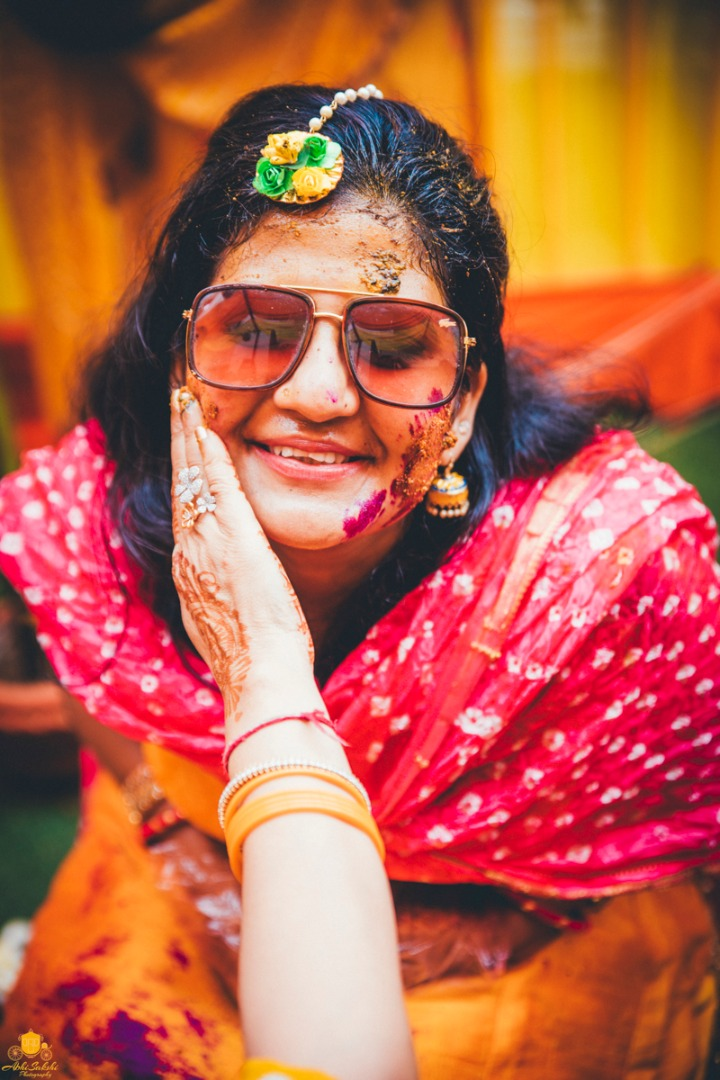 Haldi Ceremony in Indian Weddings