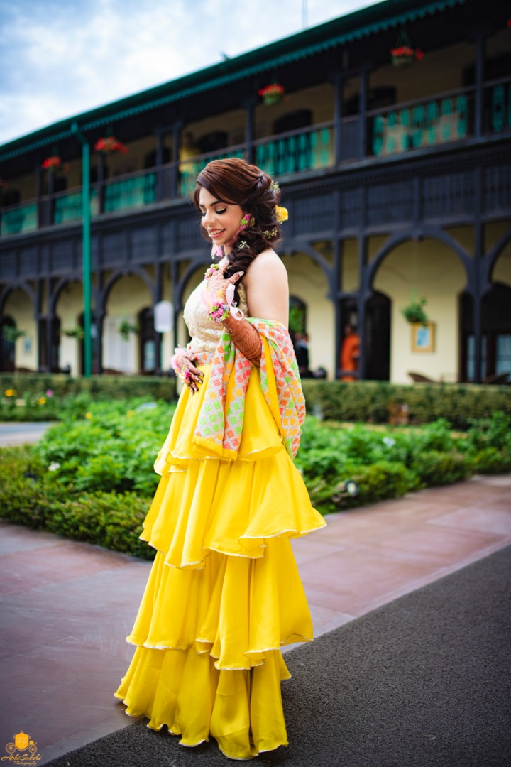 Haldi Outfit Ideas for Bride