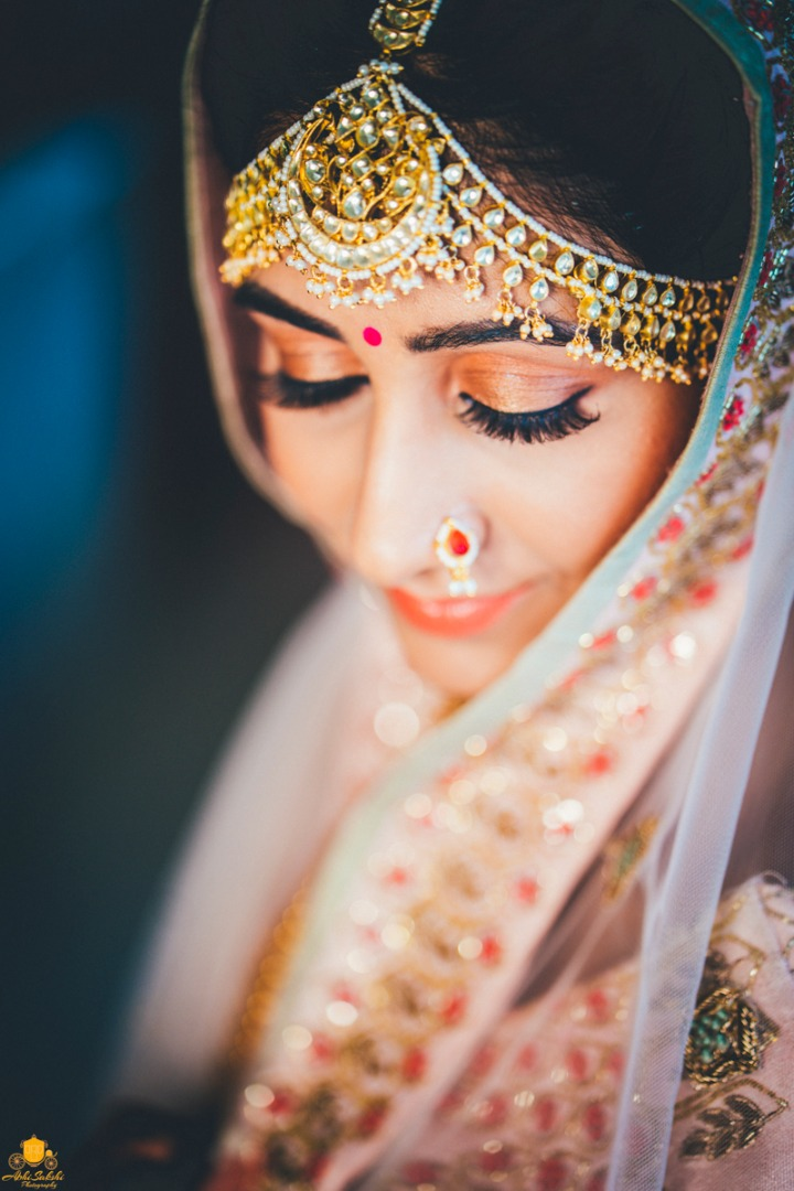 Subtle Makeup Ideas for Indian Bride