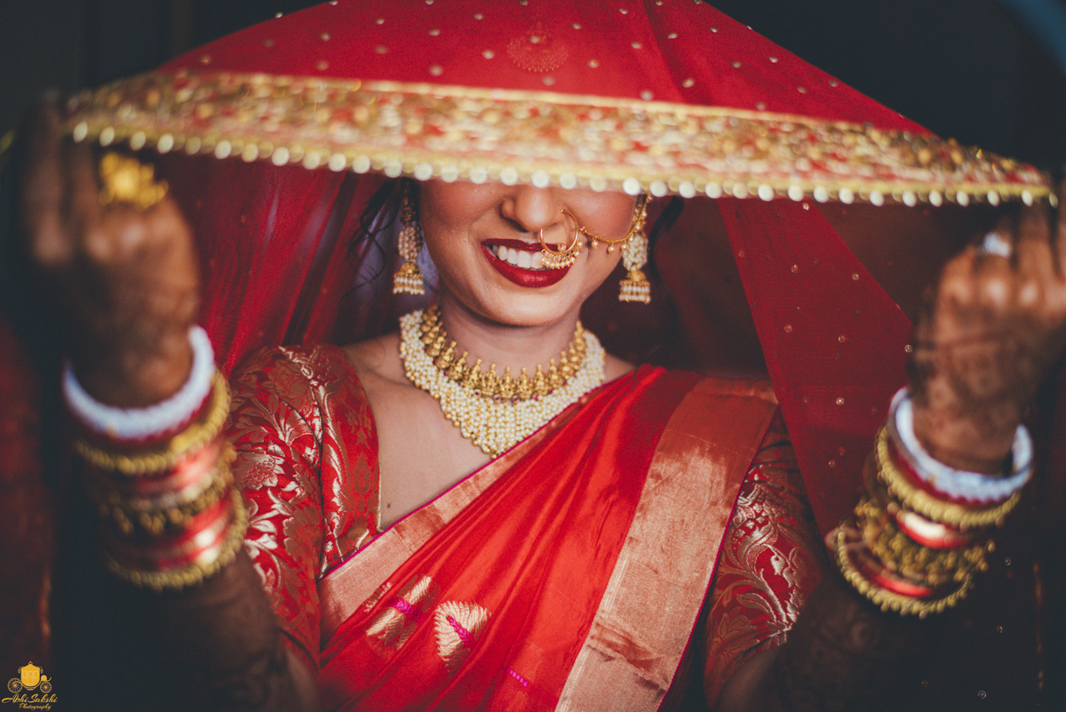 Traditional Indian Bride Poses