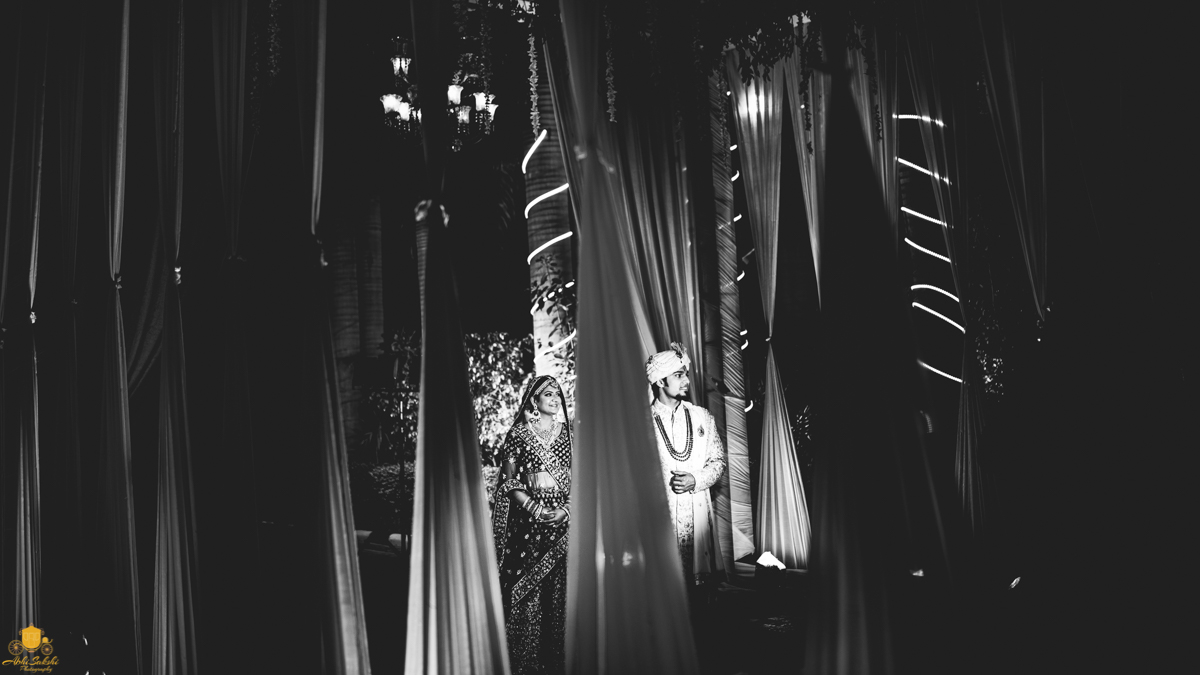 Splendid Black and White Wedding Portraits