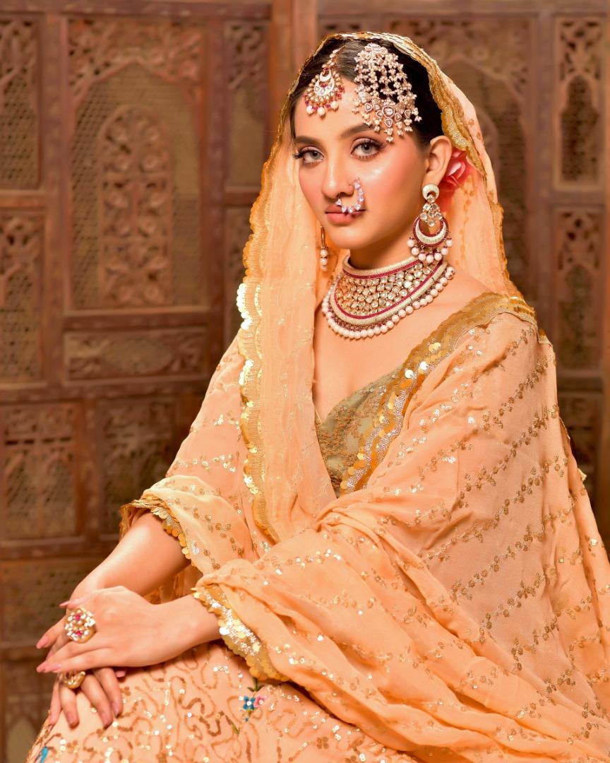 stunning nude bridal makeup