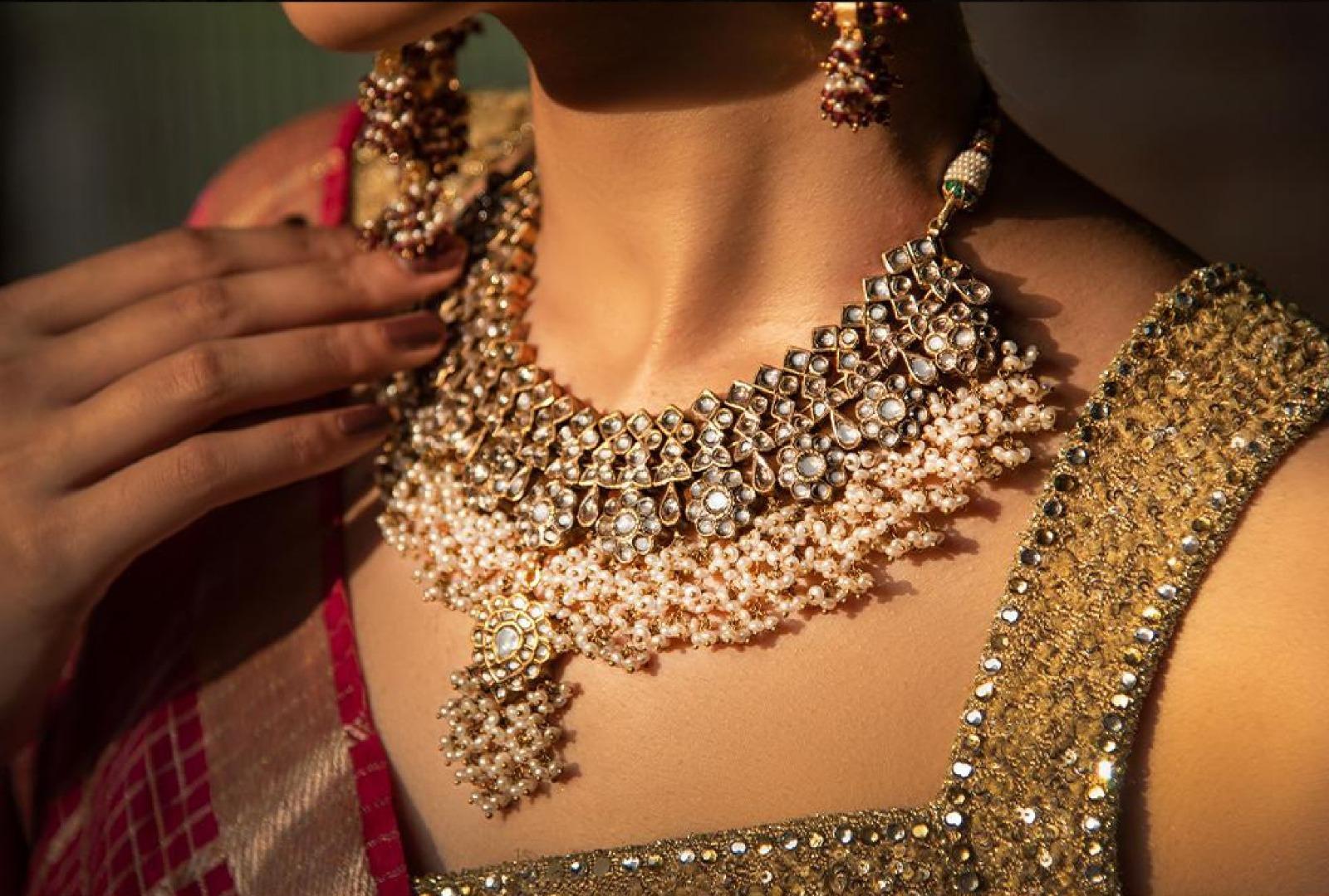 #Wedding Necklace