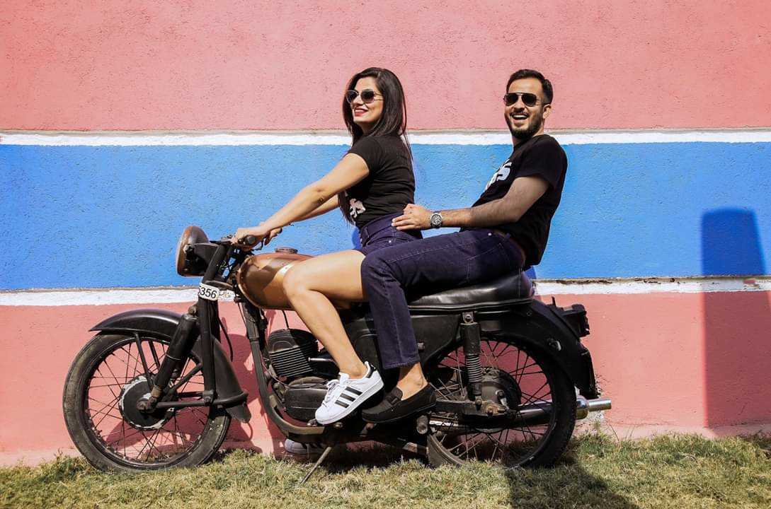 Pre Wedding Photography Ideas on Bike