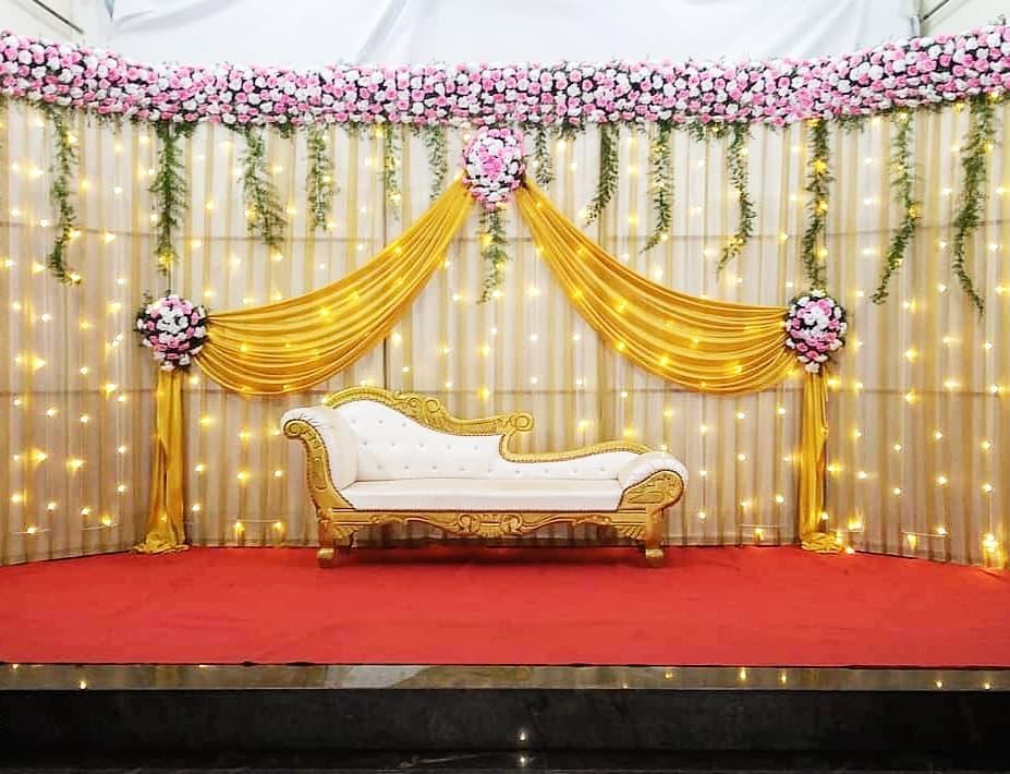 yellow seating decor