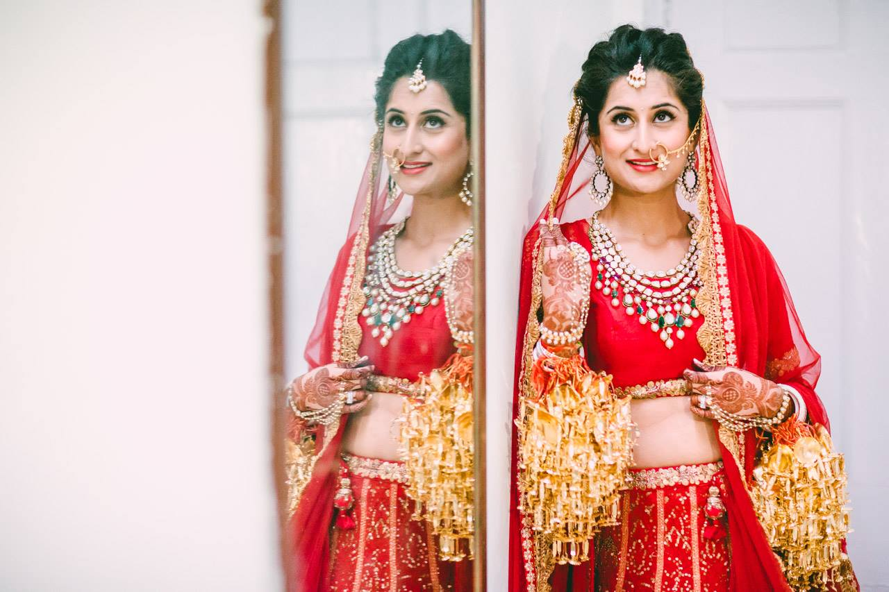 Light Weight Bridal Lehenga