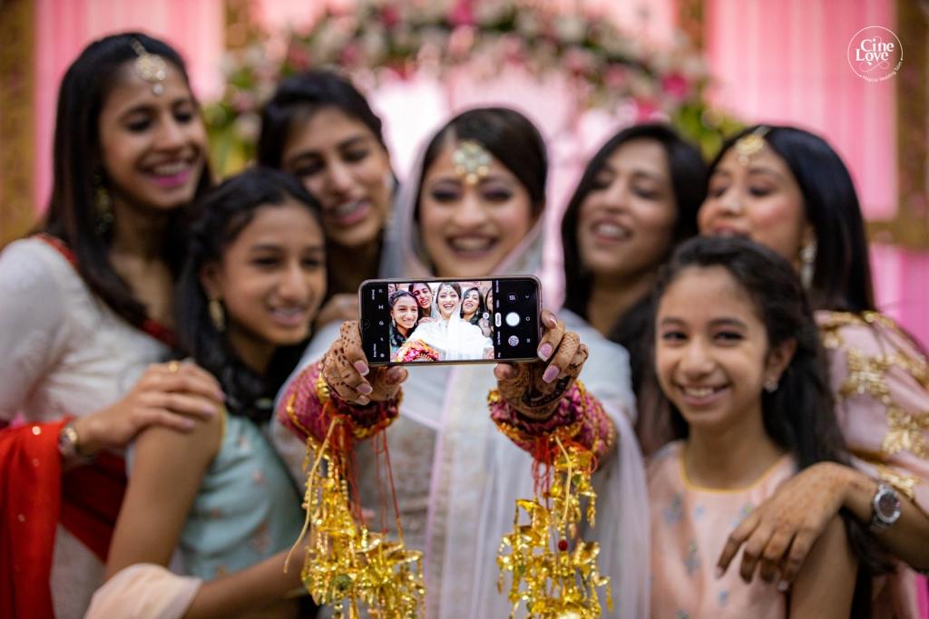 Indian Wedding Mehendi Ceremony