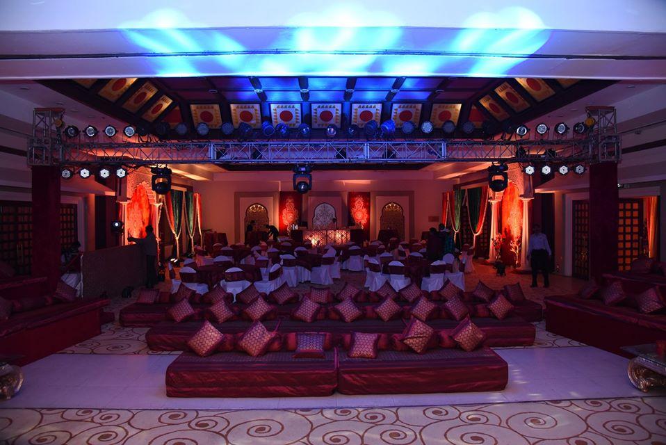 wedding decoration theme for sufi music