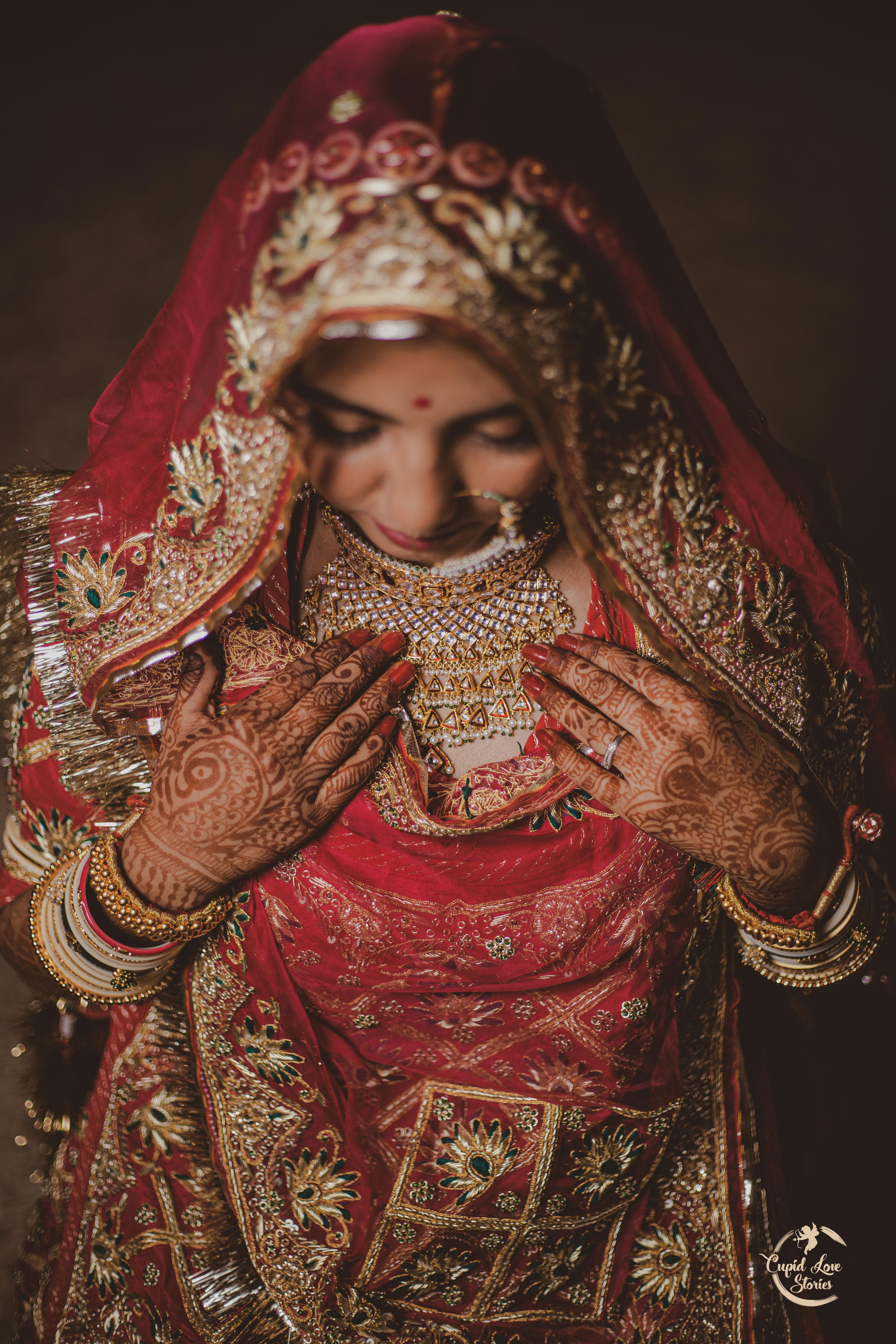 traditional Indian Bridal wedding photography