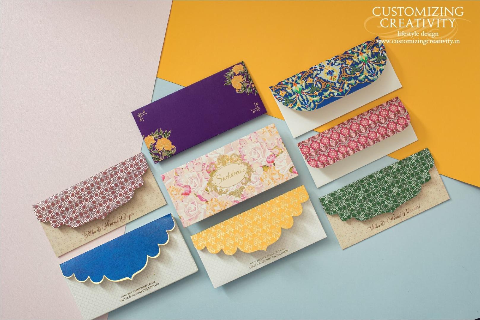 Printed Personalized Wedding Envelopes