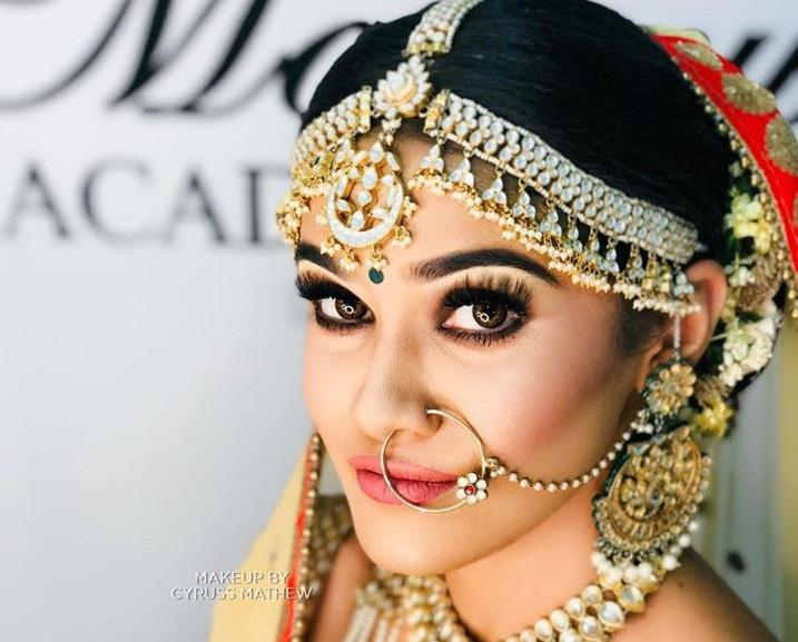 Natural HD Bridal Makeup & Hairstyle