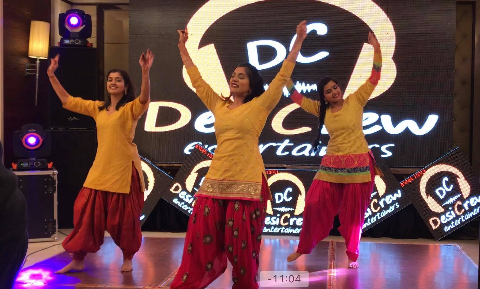 performers during their dance performance