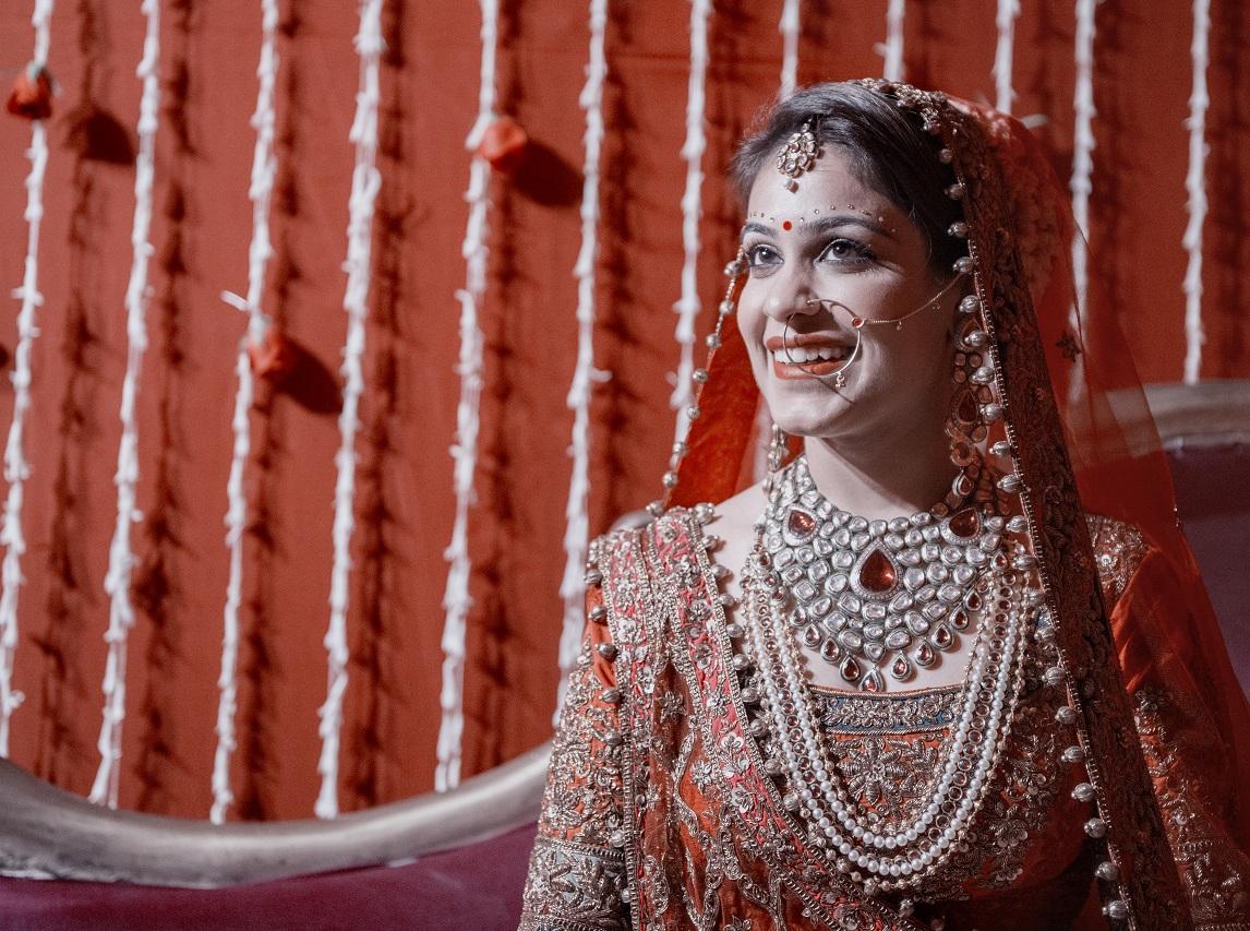 Bridal Neck Piece