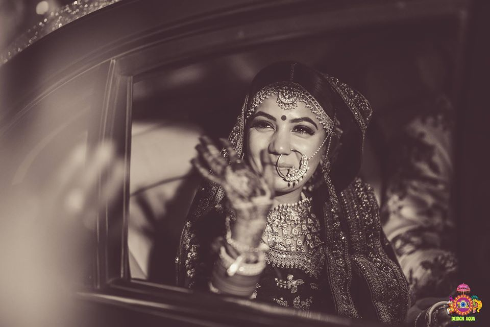 A Happy Bride See Off Picture