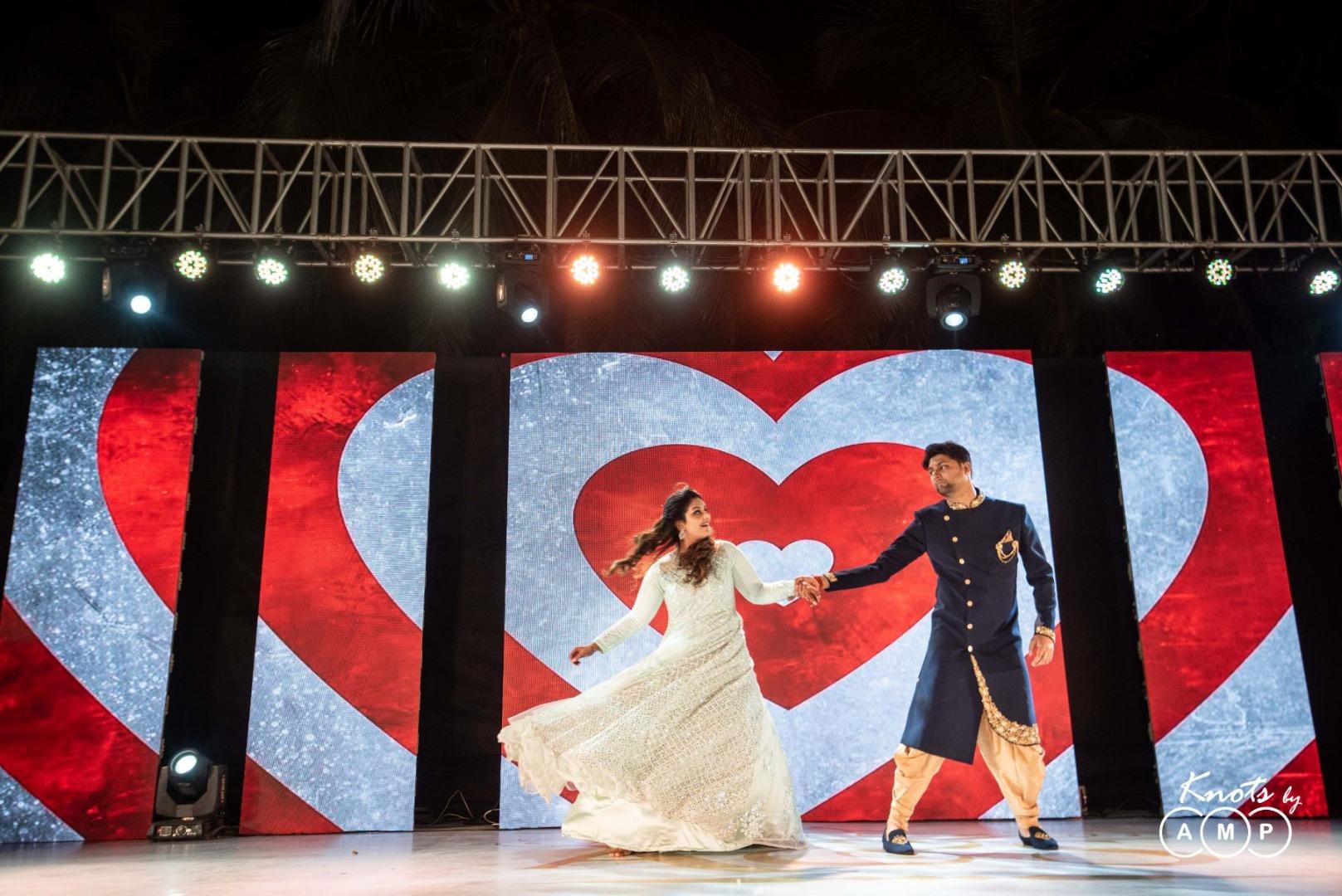 Bride & Groom Sangeet Dance