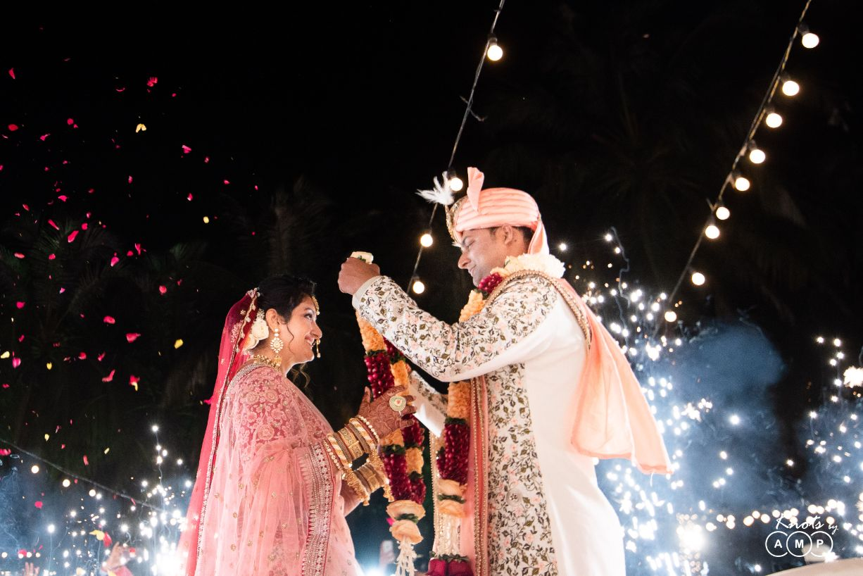 Bride & Groom Jaimala Ceremony