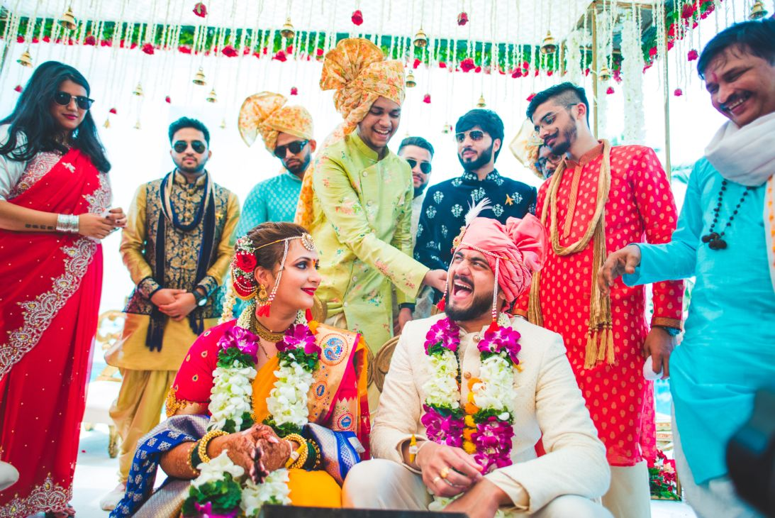 Funny Indian Wedding Ritual Picture