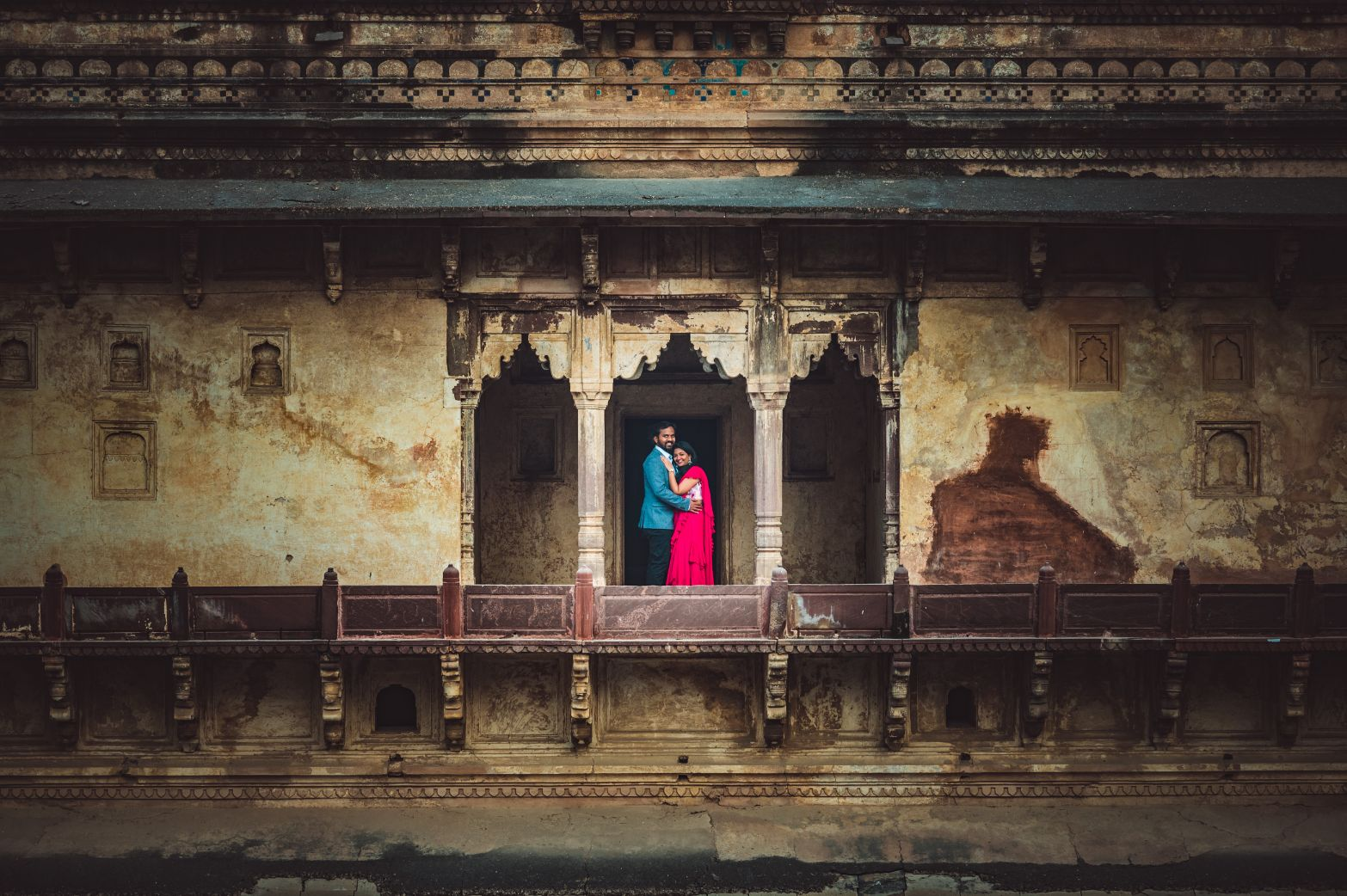 Pre Wedding Photography in a Fort