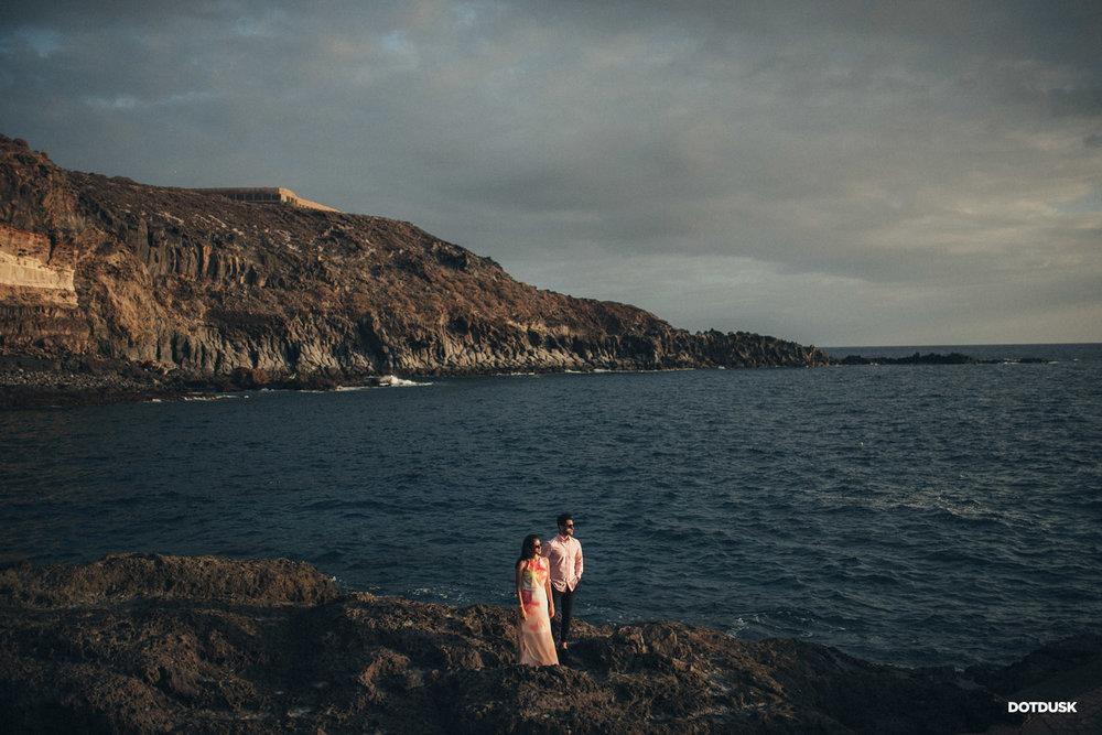 Couple Pre Wedding Photography near Sea