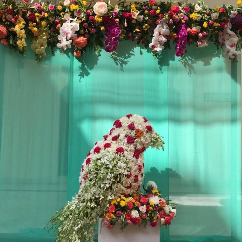 floral decoration idea