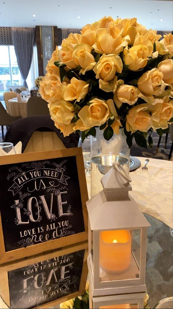 Cute Wedding Table Decor Ideas