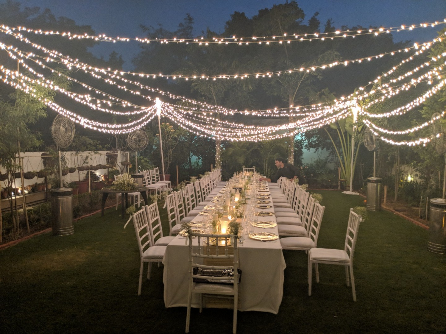 Magical Fairy Lights Decor in Indian Wedding