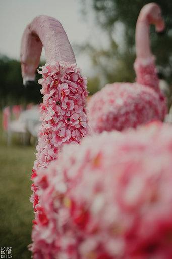 Flower decoration for haldi