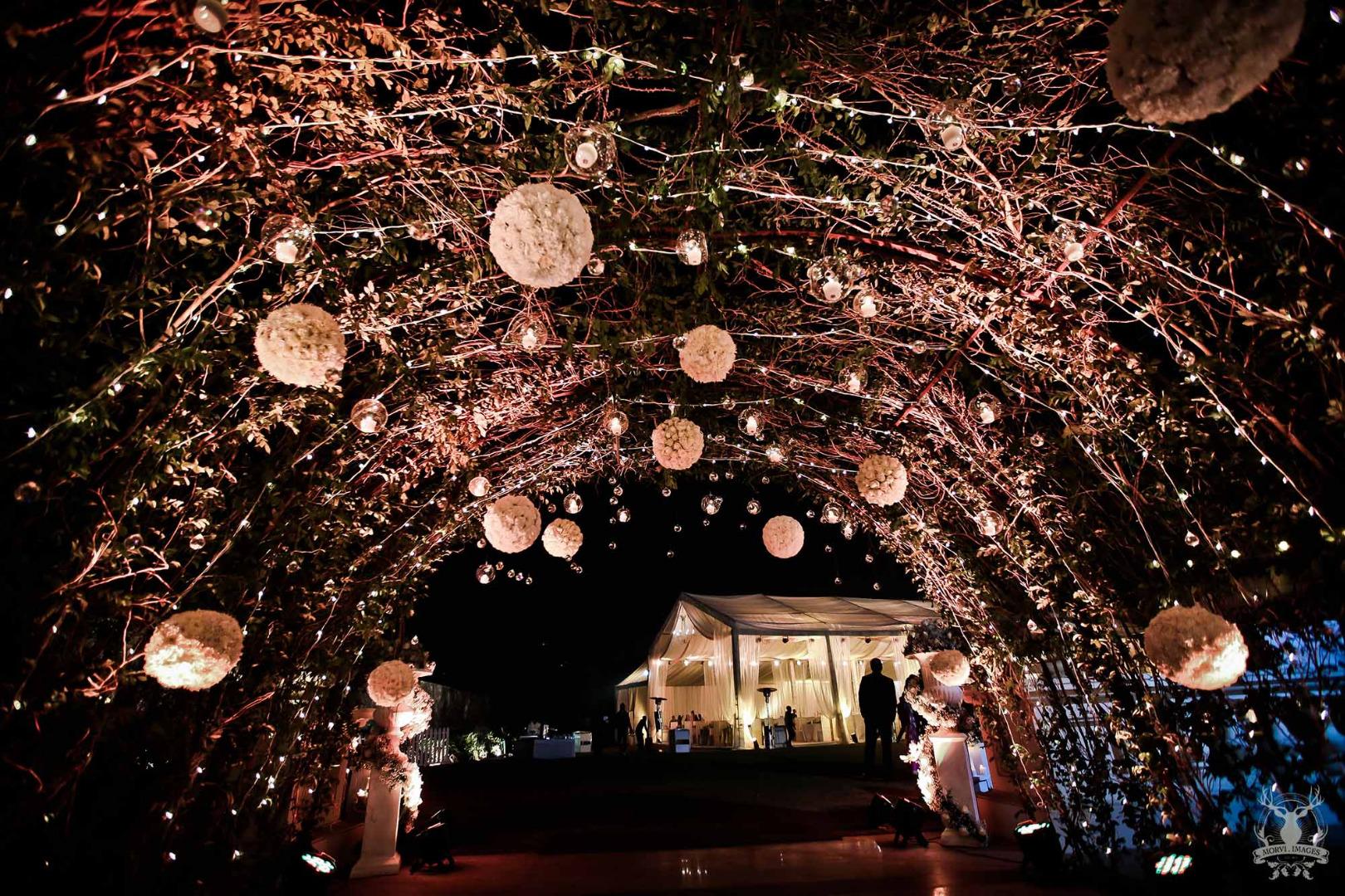 fairy entrance decoration idea