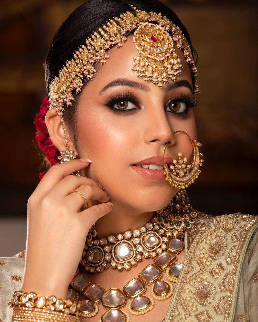 Beautiful HD bridal makeup
