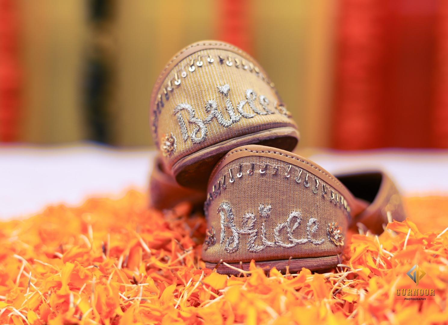 Bridal Jutti for Mehendi
