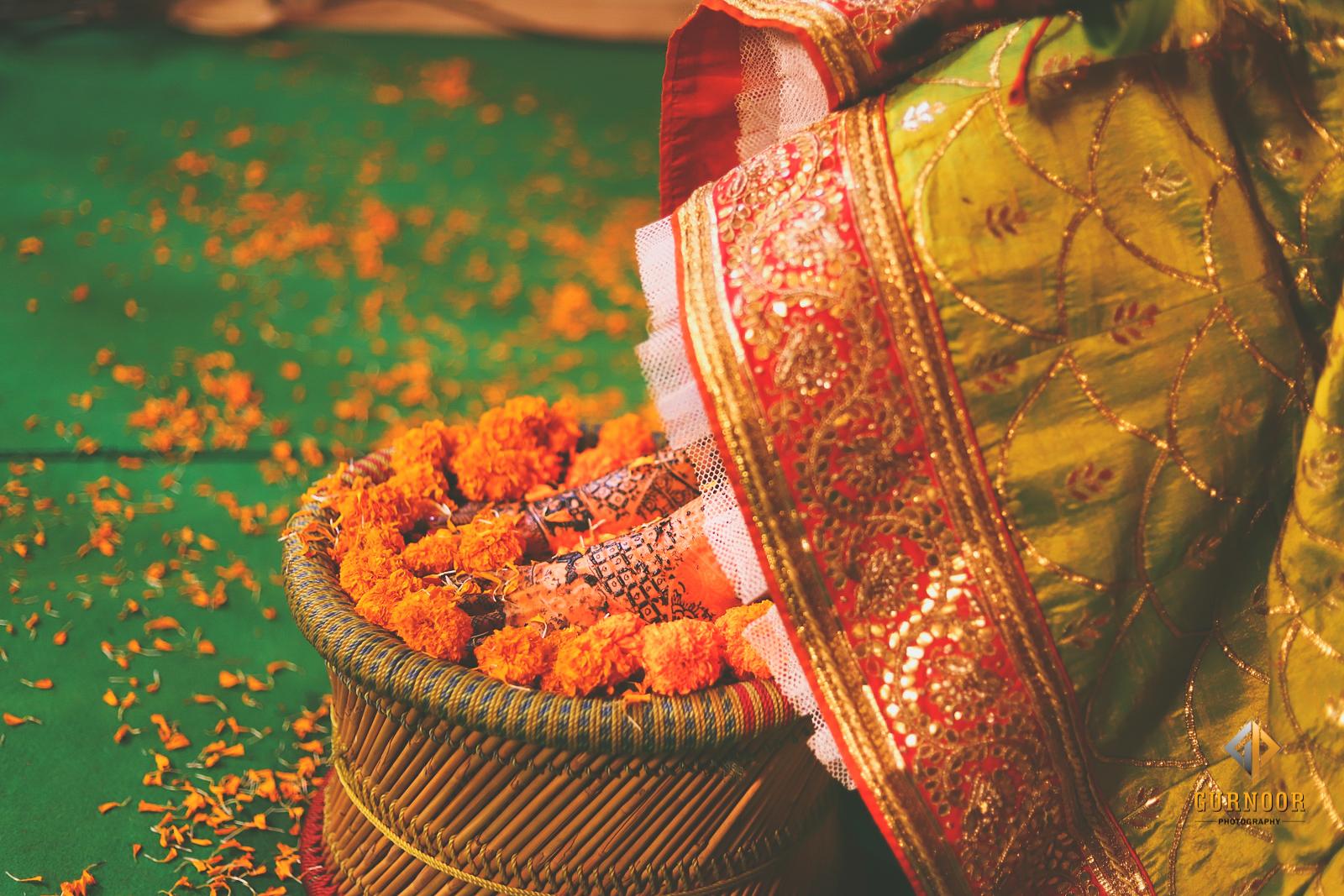 Bridal Mehendi Designs for Legs