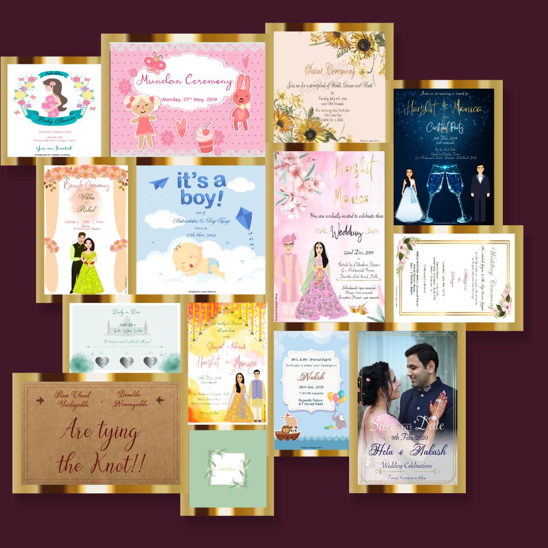 Creative Invitation Designs