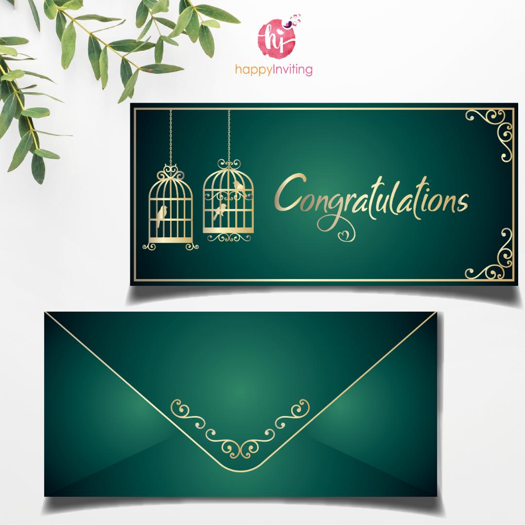 Congratulations Card Design