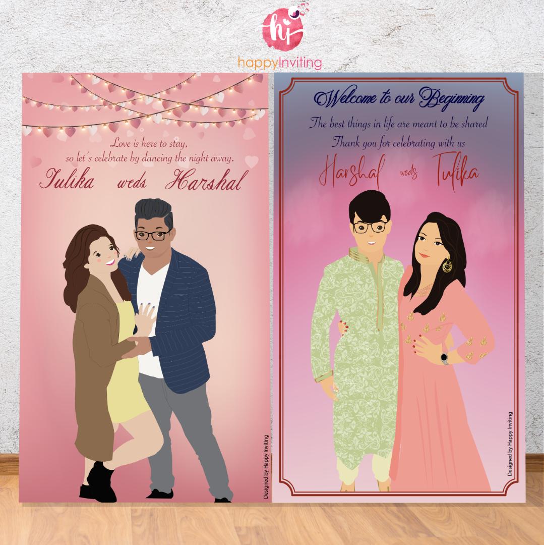 Contemporary Indian Wedding Card Designs