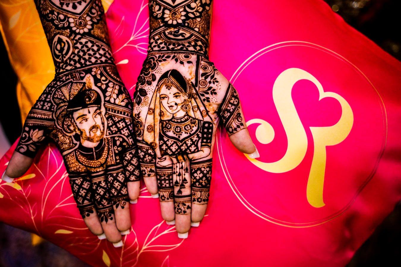 Bridal Mehendi Picture