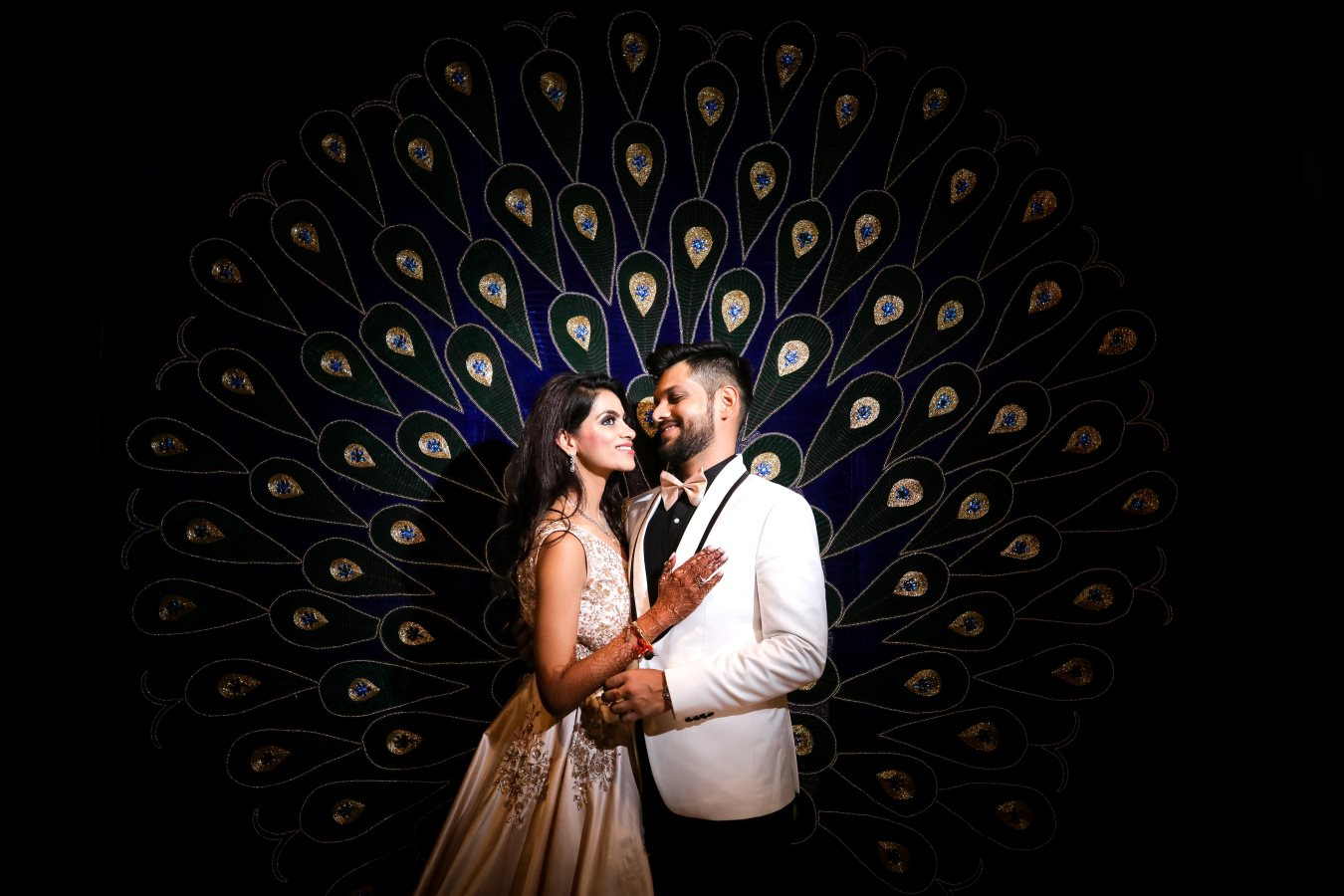 Pre Wedding Bride & Groom Portrait Picture
