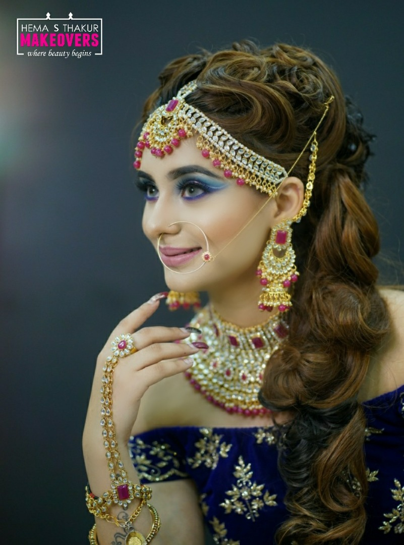 Unique Bridal Look for Indian Brides