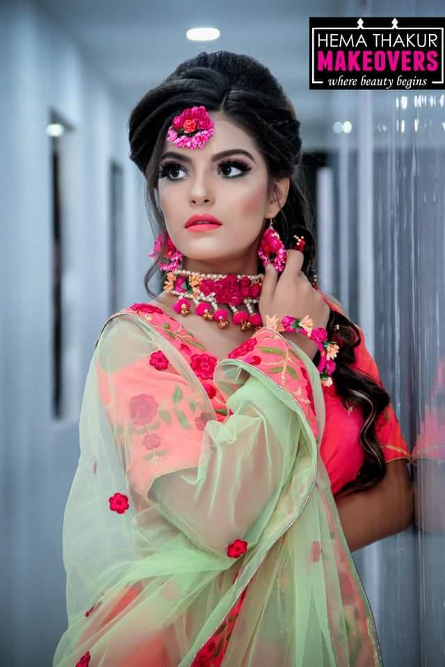 Simple Makeup Look for Haldi Ceremony