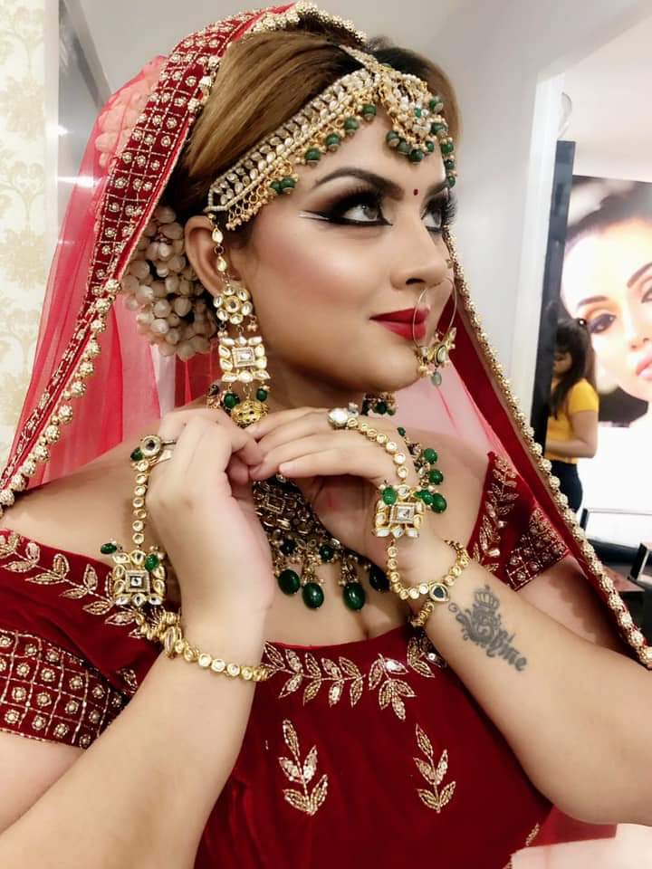 Statement Look for Indian Brides