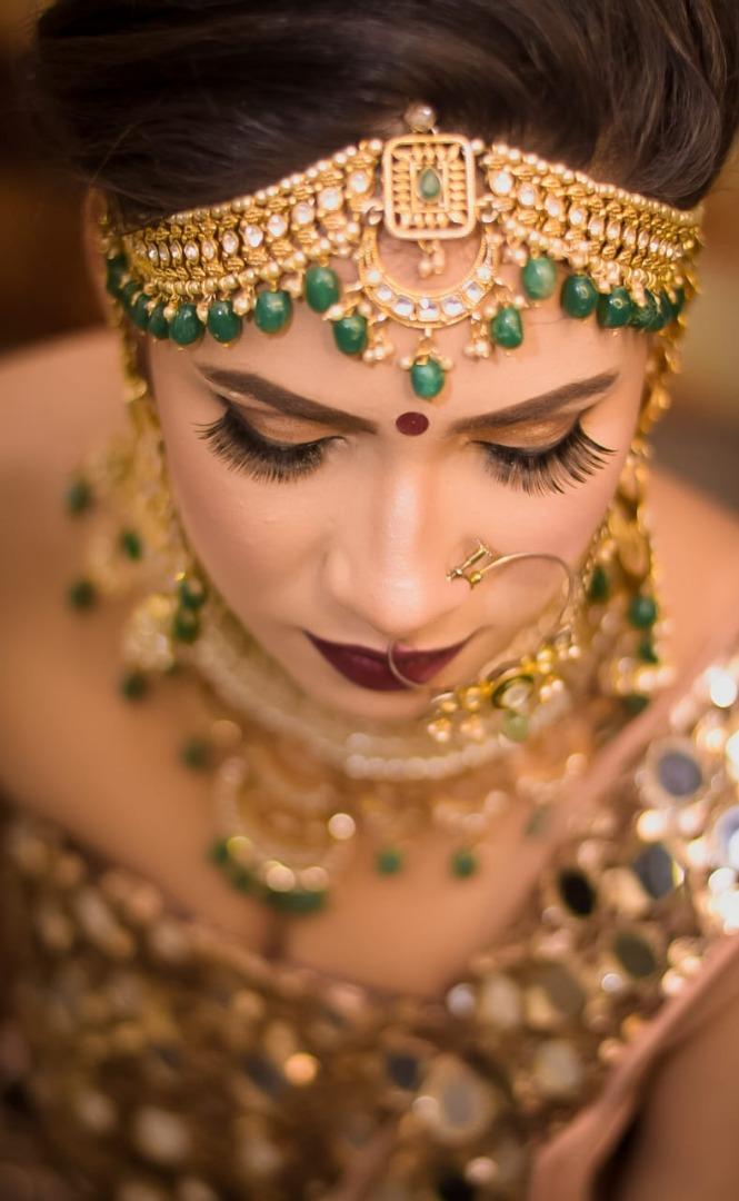Dusky Bridal Makeup