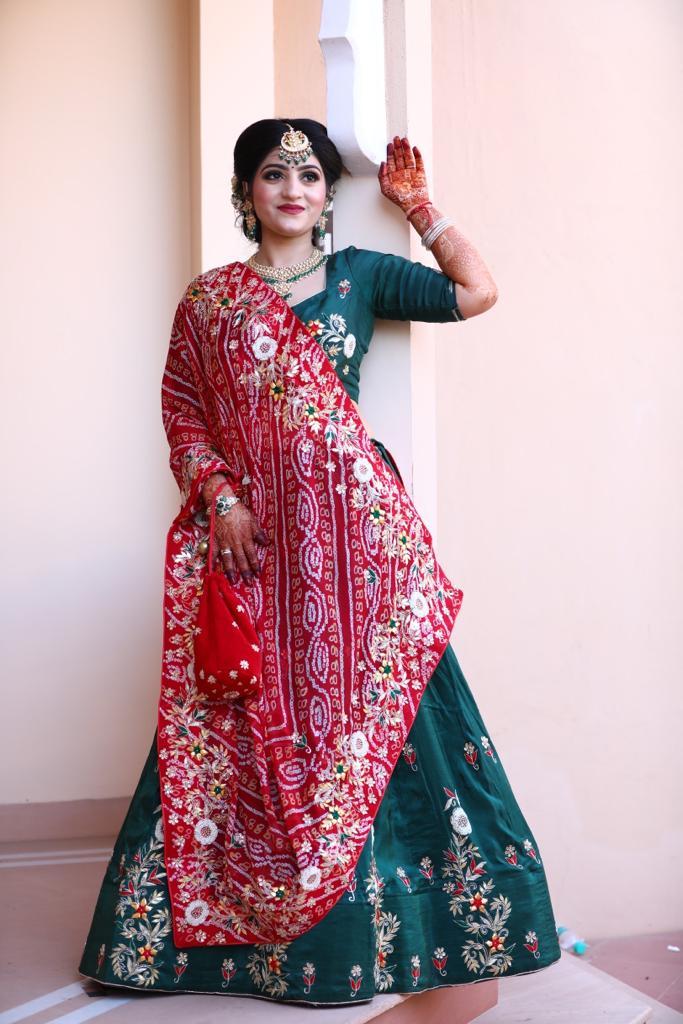 Sangeet Ceremony Bridal Photoshoot
