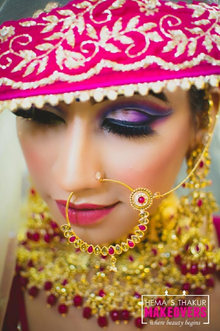 Unique Indian Bridal Makeup Looks