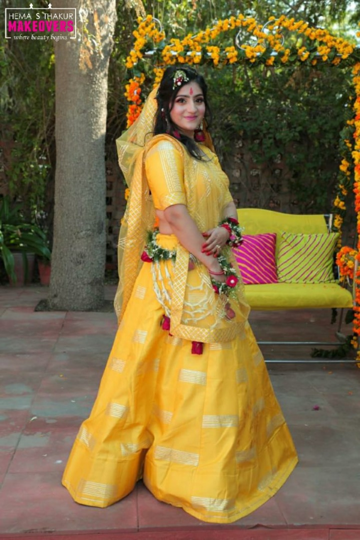 Traditional Haldi Ceremony Outfit Ideas