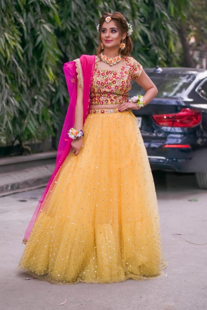 Cute Haldi Ceremony Outfit Ideas